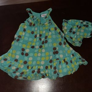 18mo girl summer dress with diaper cover